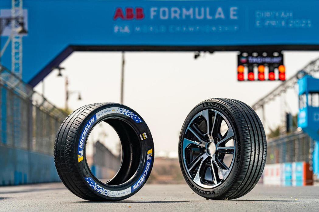Michelin推Pilot Sport EV電動車專用胎。 圖/Micheli...