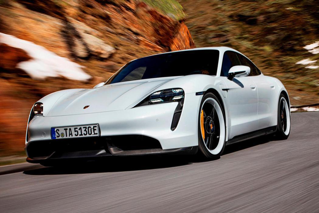Porsche Taycan。 圖/Porsche提供