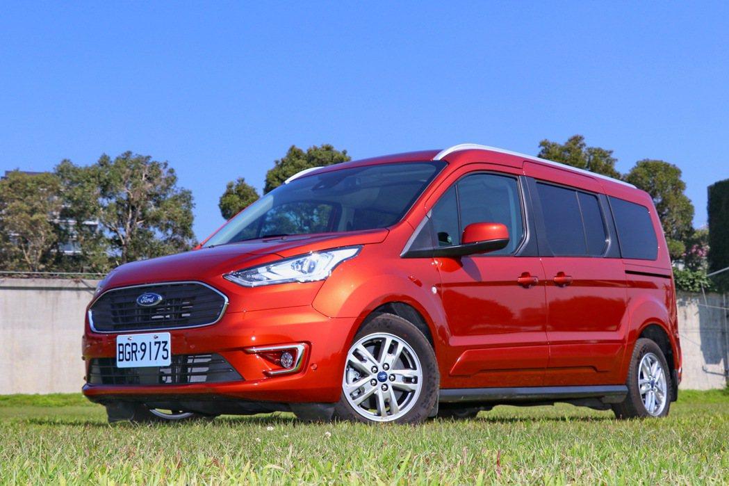 Ford導入歐系七人座Tourneo Connect旅玩家。 記者陳威任/攝影