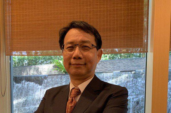 智擎總經理胡宇方。記者謝柏宏/攝影