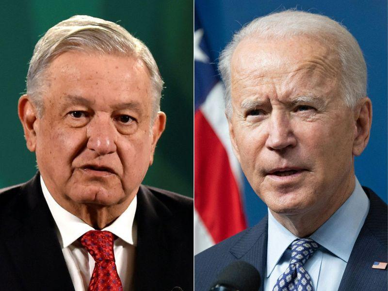 墨西哥總統羅培茲歐布拉多即將於3月1日和美國總統拜登舉行視訊會議。 法新社