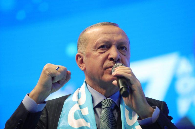 土耳其总统艾尔段。 欧新社(photo:UDN)