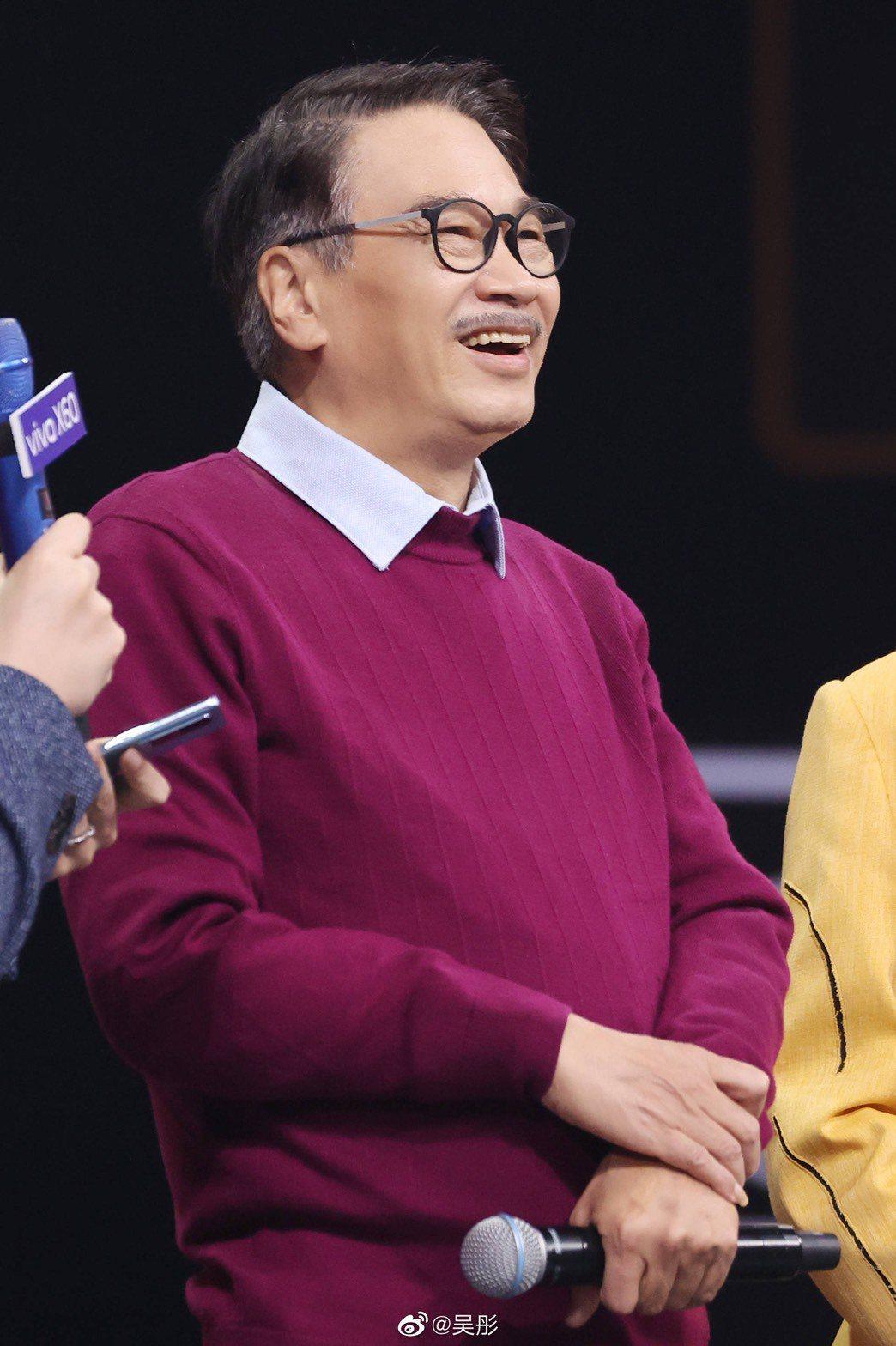 吳孟達最後一次公開露臉是上大陸綜藝節目「王牌對王牌」。圖/摘自微博