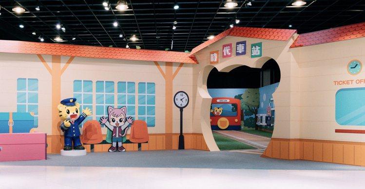 高雄夢時代即日起至4月5日在8樓時代會館推出「巧虎童趣森林特展」。圖/夢時代提供