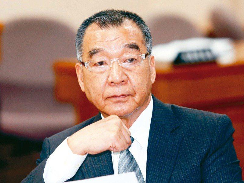 國安團隊人事調整,國安會前秘書長蘇起認為,這次調整重點應是新任國防部長邱國正(圖)。圖/聯合報系資料照片