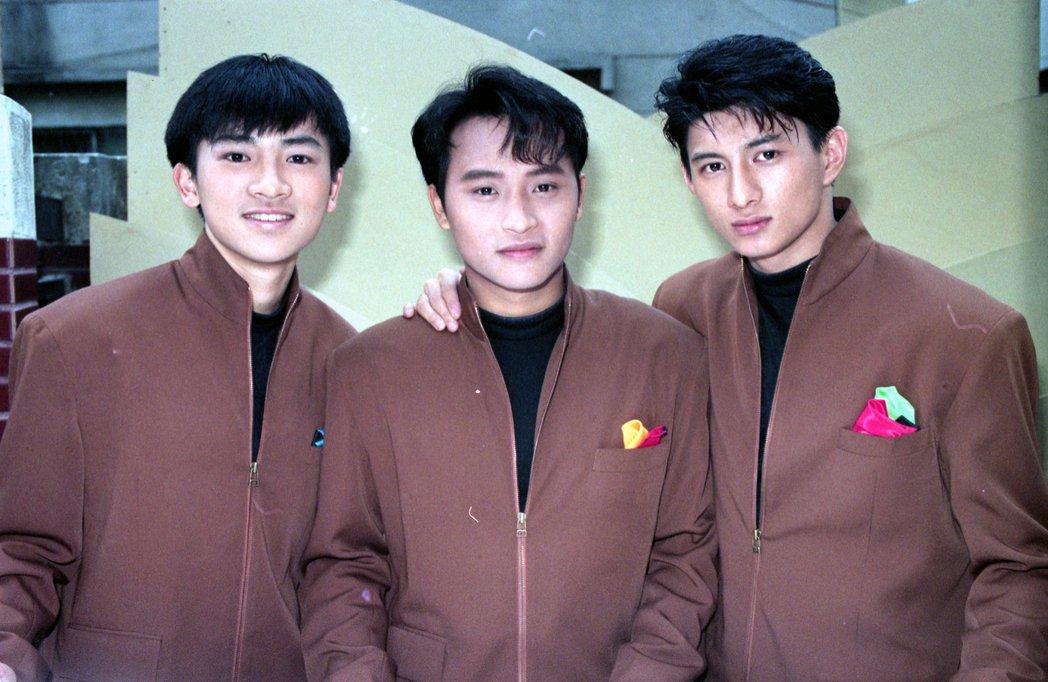 蘇有朋(左起)、陳志朋、吳奇隆以「小虎隊」出道走紅華人圈。圖/本報系資料照片