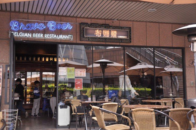 布娜飛創始店營業至今日止,結束長達15年營運。記者張哲郢/攝影