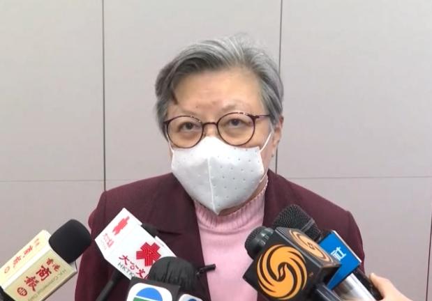 大陸全國人大前常委、香港立法會前主席范徐麗泰。(香港電台網)