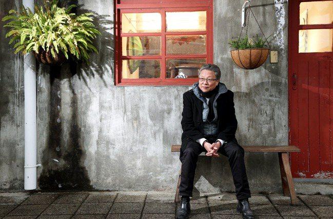 張大春談的老台北,更多的是與人的故事。攝影/余承翰