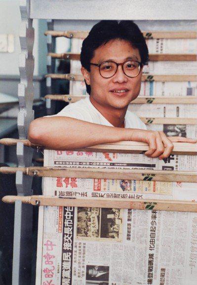 張大春曾短暫在報社工作。翻攝/吳致碩