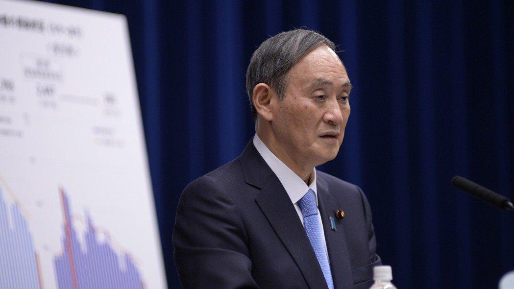 日本首相菅義偉。(本報系資料庫)