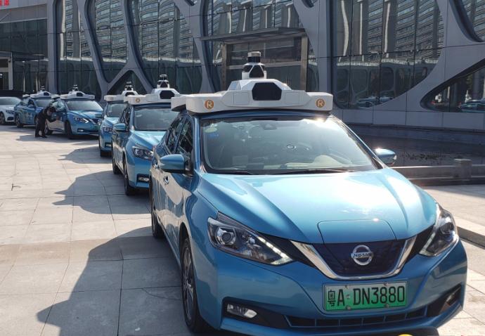 廣州車聯網先導區和示範區啟動,智能網聯汽車發展全國第一,圖為車聯網無人駕駛在廣州試行。圖/香港文匯網