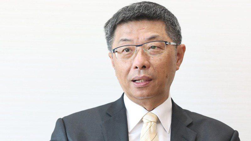 泰安產險總經理郭鴻文。記者侯永全/攝影