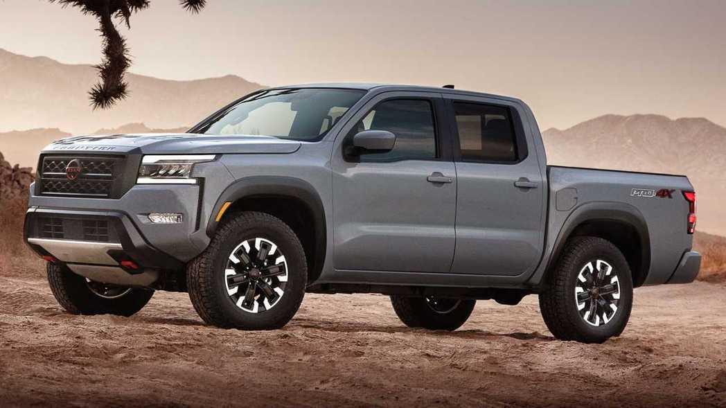 全新Frontier將激進的現代風格與Nissan Hardbody概念結合。 ...