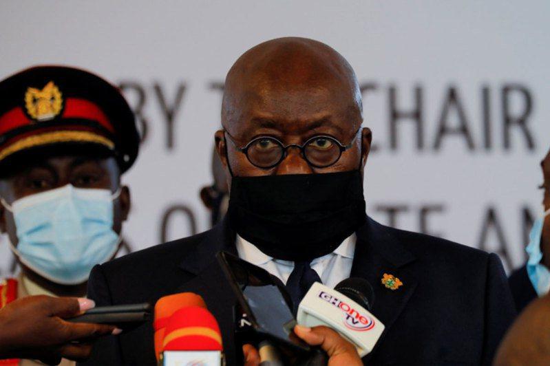 迦納總統阿庫佛艾杜。路透社