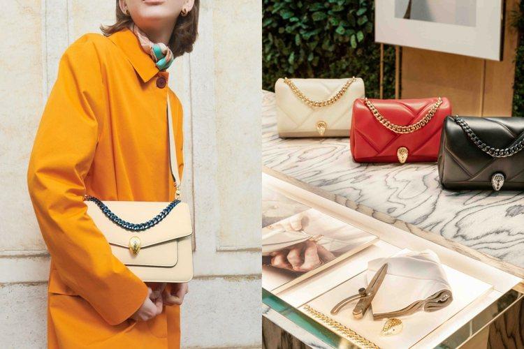寶格麗於米蘭時裝周期間舉辦2021年秋冬配件系列發表會。圖/寶格麗提供