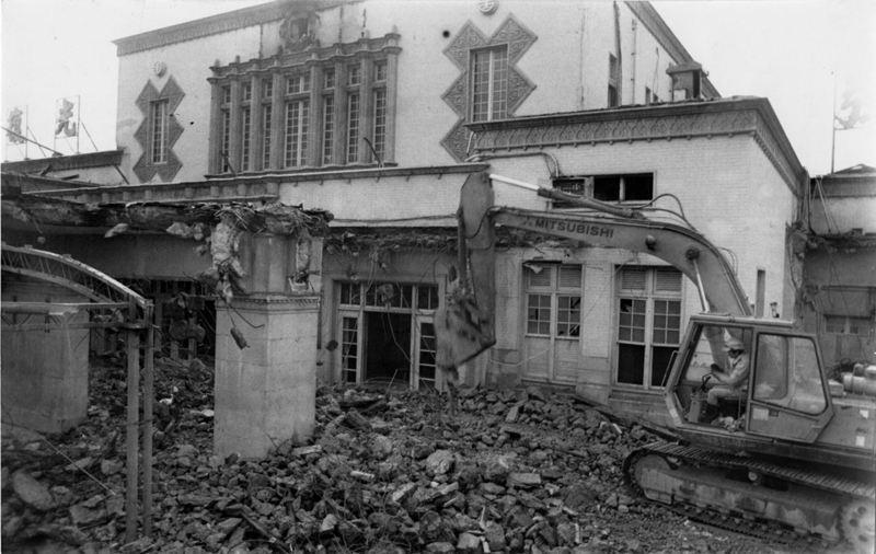 使用已50年的台北火車站,因配合鐵路地下化工程,3月1日開始拆除。圖/聯合報系資料照片