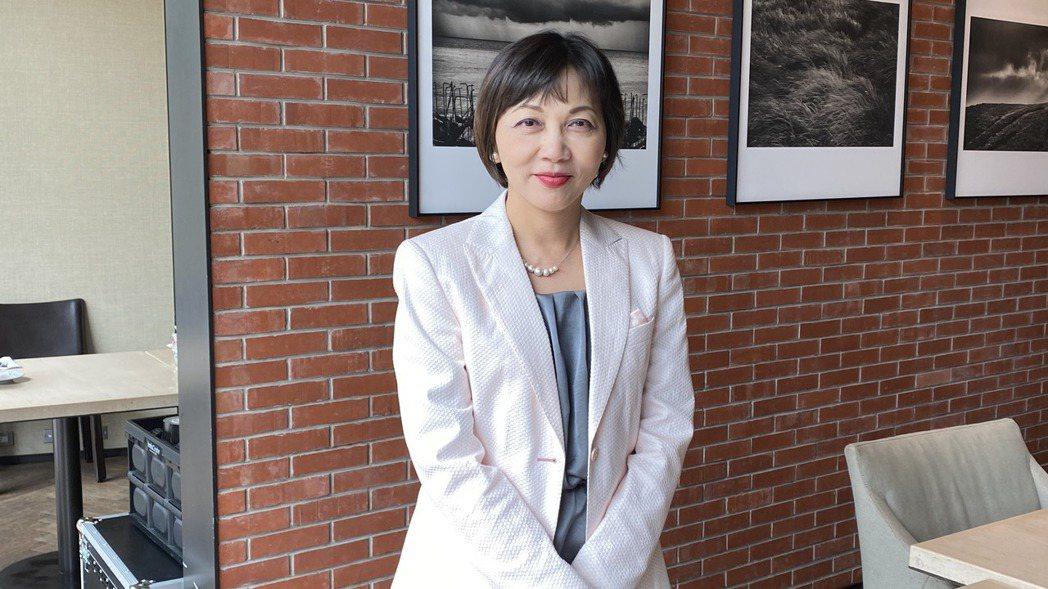 台灣微軟新任首席營運長陳慧蓉,是近十年來首位台灣女性擔任此要職。 記者康陳剛/攝...