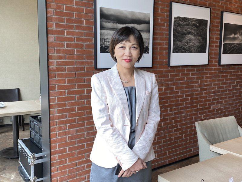 台灣微軟新任首席營運長陳慧蓉,是近十年來首位台灣女性擔任此要職。 記者康陳剛/攝影