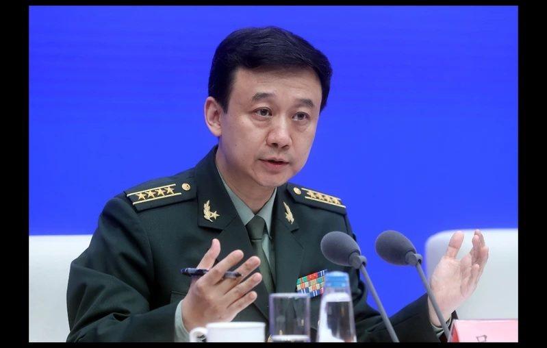 大陸國防部新聞發言人吳謙。圖/中新社