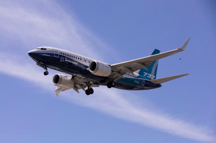 美國飛機製造商波音公司今天表示,已建議營運波音737 MAX飛機的16家航空公司...