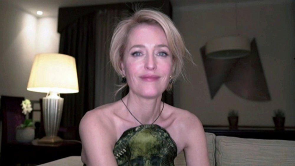 姬蓮安德森獲得金球獎電視類最佳女配角。(路透)