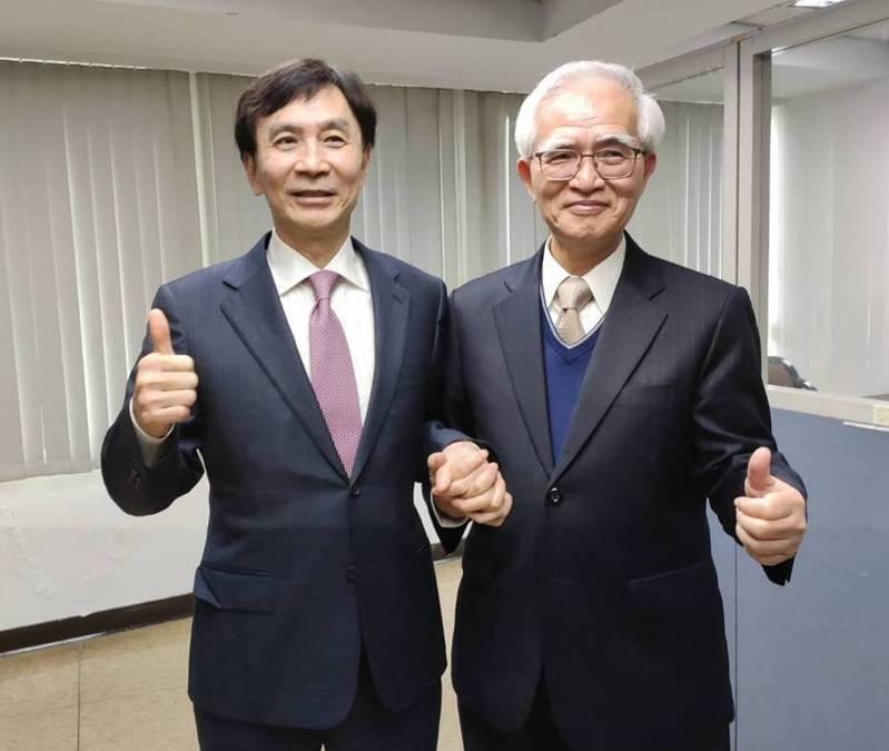 大同董事長盧明光(右)與總經理鍾依文。(本報系資料庫)