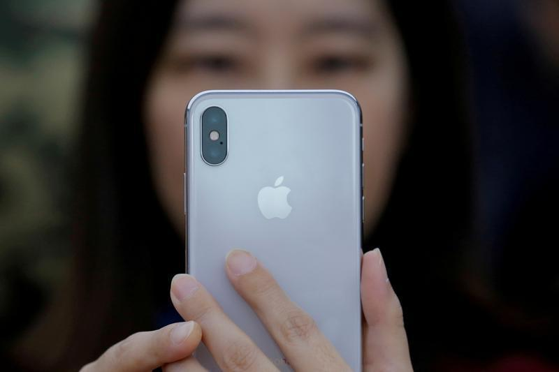 蘋果iPhone手機。路透