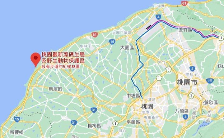 擷自Google map