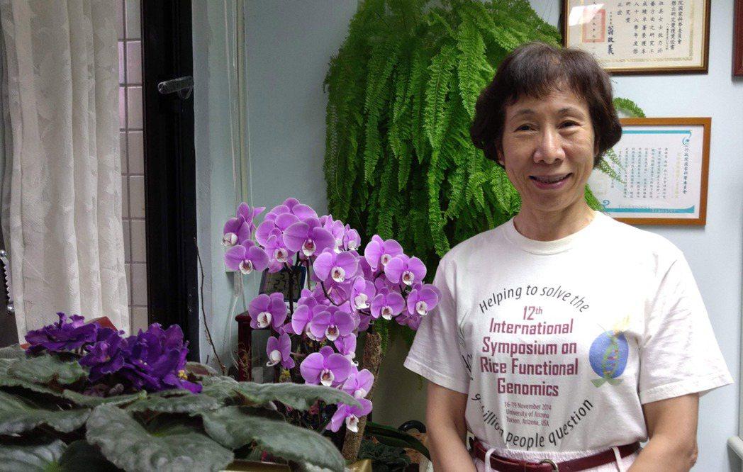 余淑美,中央研究院院士、分子生物研究所特聘研究員,以研究水稻基因而聞名,在學界素...