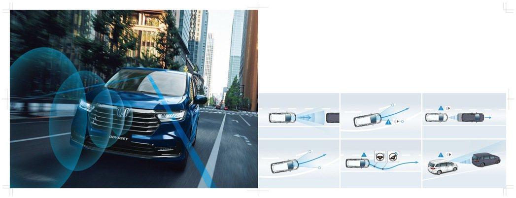 ALL NEW ODYSSEY全新改款將「Honda SENSINGTM 智慧安...