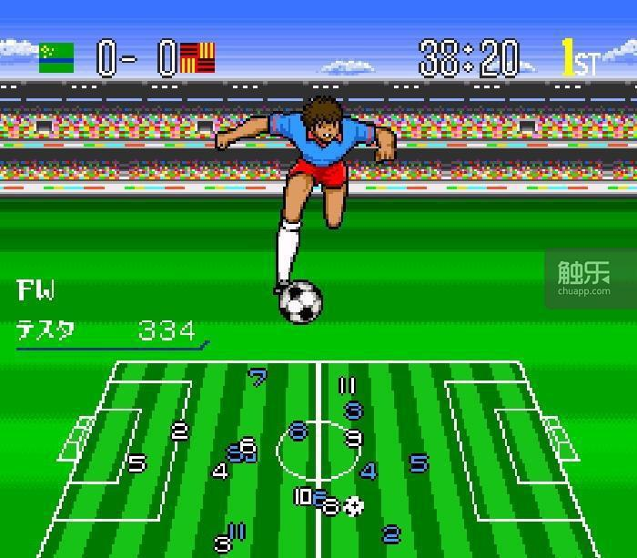 SFC遊戲《足球小將4》