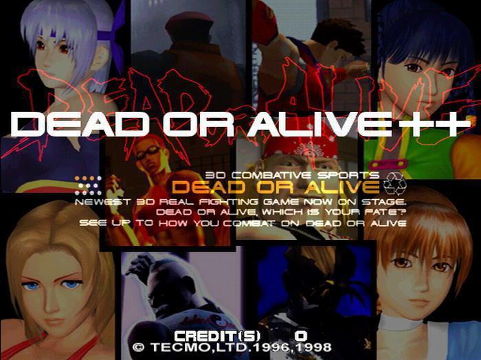 初代的最後一個版本《死或生++》