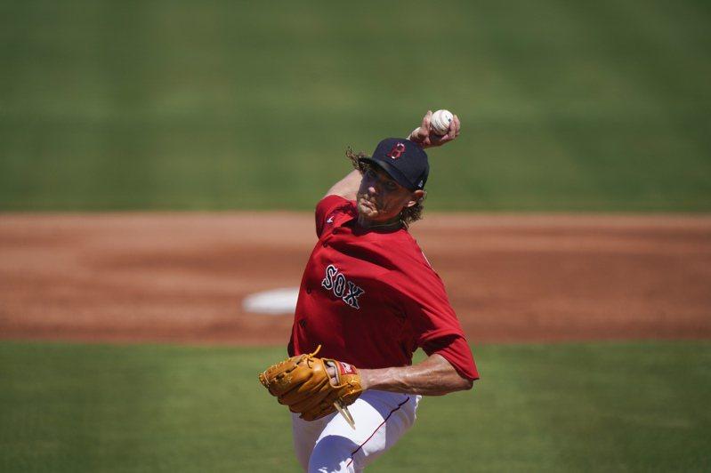 紅襪投手李察茲。 美聯社