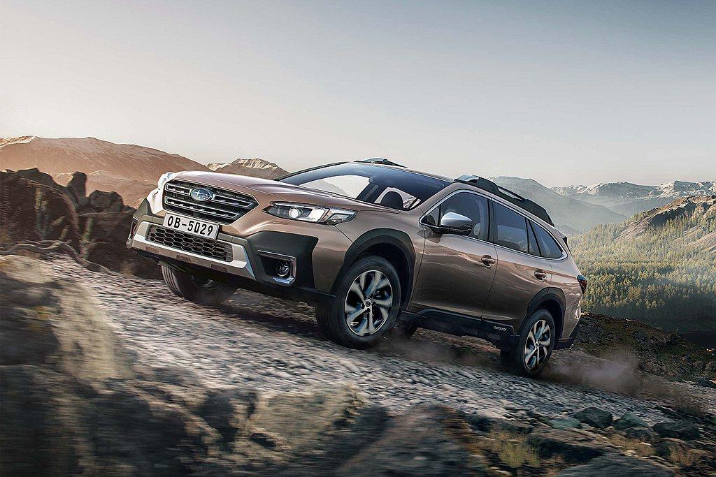 今年初展開預售的Subaru全新大改款豪華旗艦休旅Outback,憑藉著精良的產...