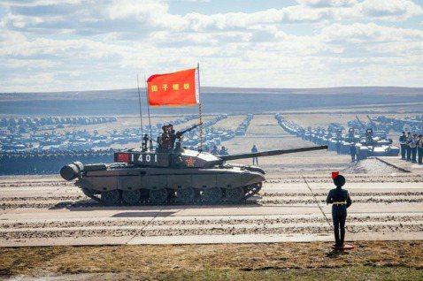 中國的對外擴張,在西邊的歐亞大陸,仍有俄羅斯這個「笑面虎」般的強勁對手。圖為解方...