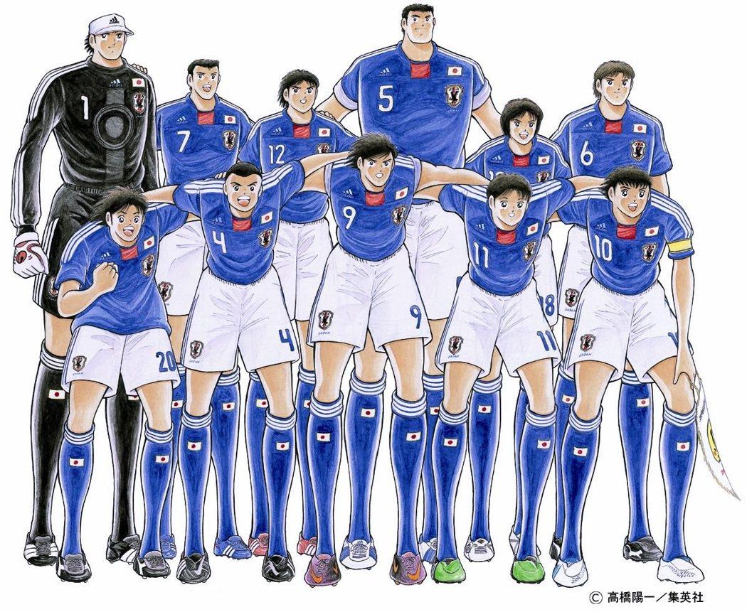 主角大空翼一路從小學時代踢入世界盃,作者高橋陽一的畫風在這40年來也有許多轉變,...