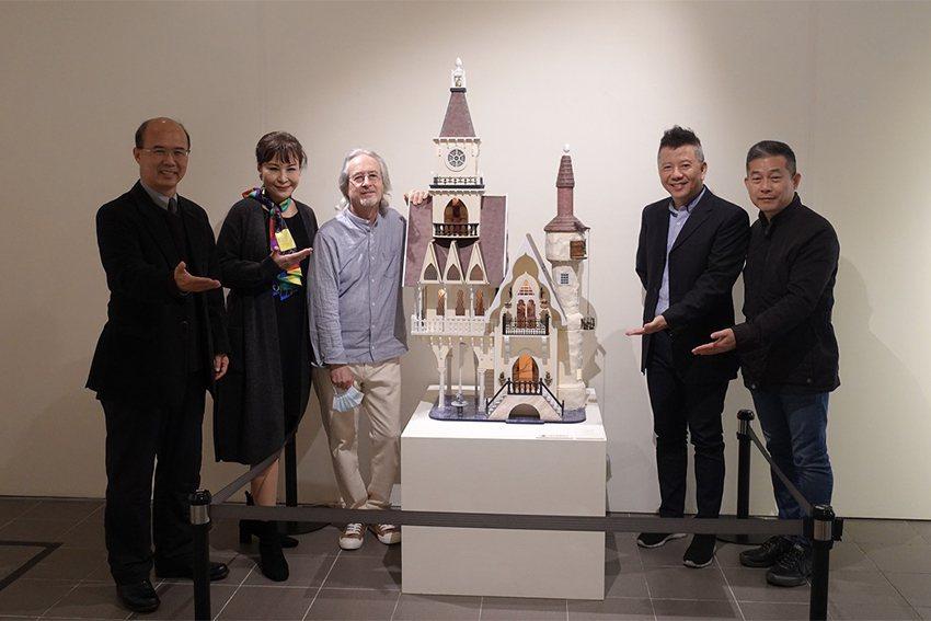 英國袖珍屋藝術家Gerry Welch在臺首展自3月2日至4月10日在中原大學展...