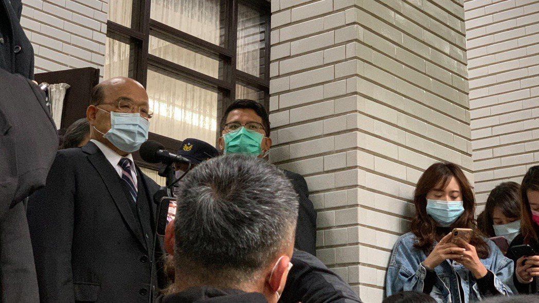 行政院長蘇貞昌今天赴立法院施政報告並備詢。記者鄭媁/攝影