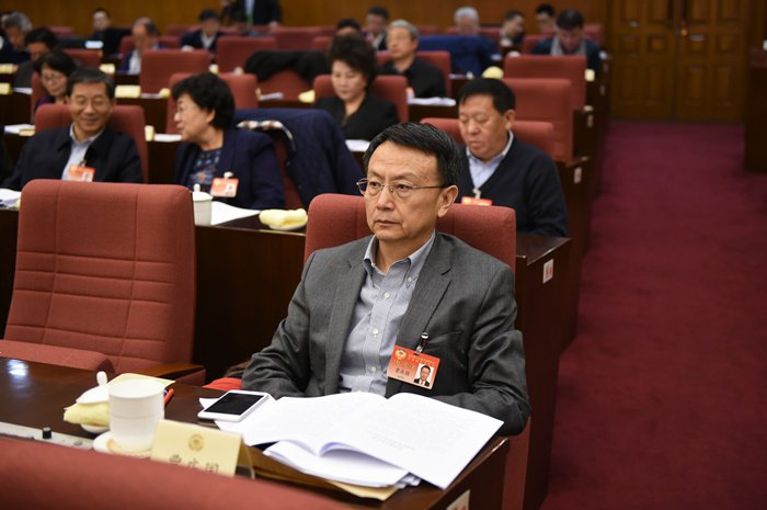 北京大學國際關係學院教授賈慶國。(取自中評社)