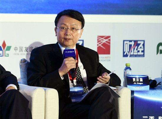 北京大學教授賈慶國。(新華社)