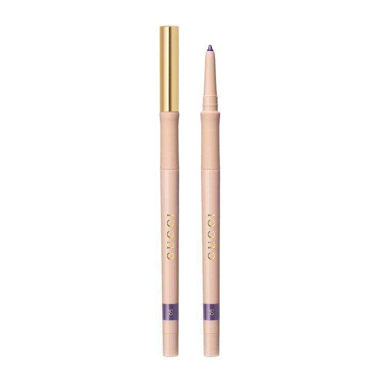 玩視不恭眼線膠筆05紫晶,920元。圖/Gucci提供