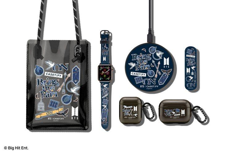 除了手機殼,還同步推出AirPods保護殼、Apple Watch表帶、二合一手...