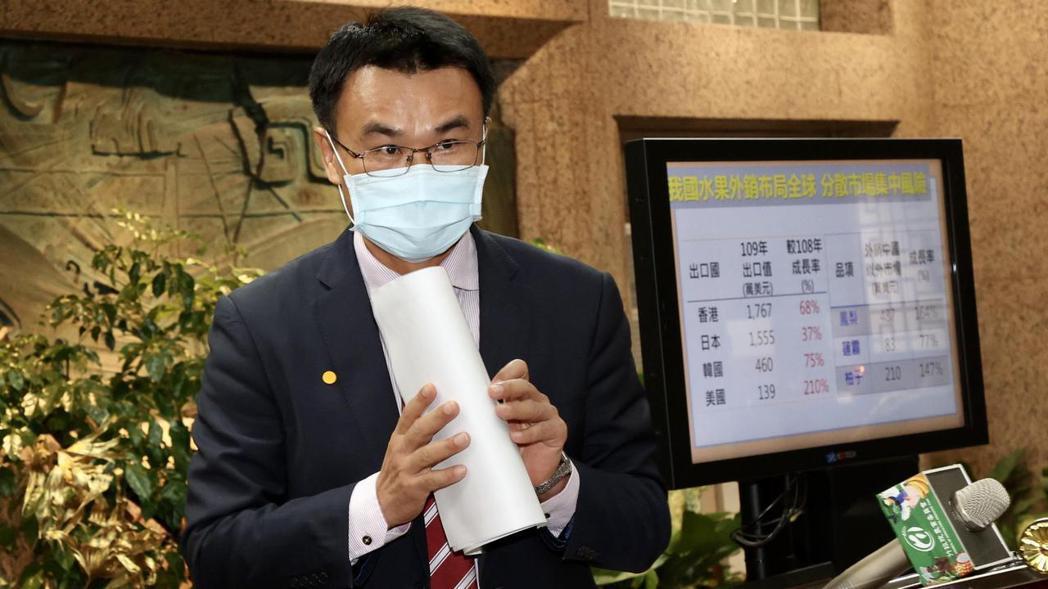 農委會主委陳吉仲。記者黃義書/攝影