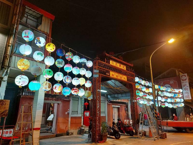 台灣祀典武廟的消防燈籠,將送到日本群馬縣參加防火展。圖/讀者提供