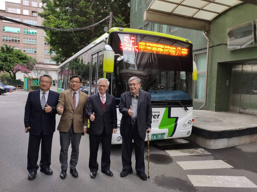北大同、南唐榮雙強聯手 攜手進軍電動巴士的台灣及東南亞市場。記者張義宮/攝影
