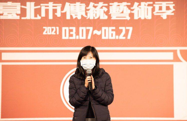 台北市文化局副局長陳譽馨致詞時表示,期望TCO今年繼續以精彩的藝文表演、撫慰人心...