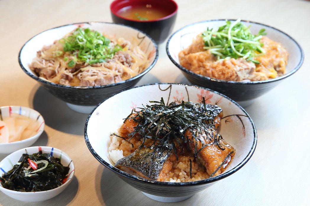 銀座杏子豬排新推出3款商業午餐。記者陳睿中/攝影