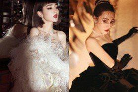 迪麗熱巴盛世美顏搭珍珠激似奧黛麗赫本 碾壓全場女星