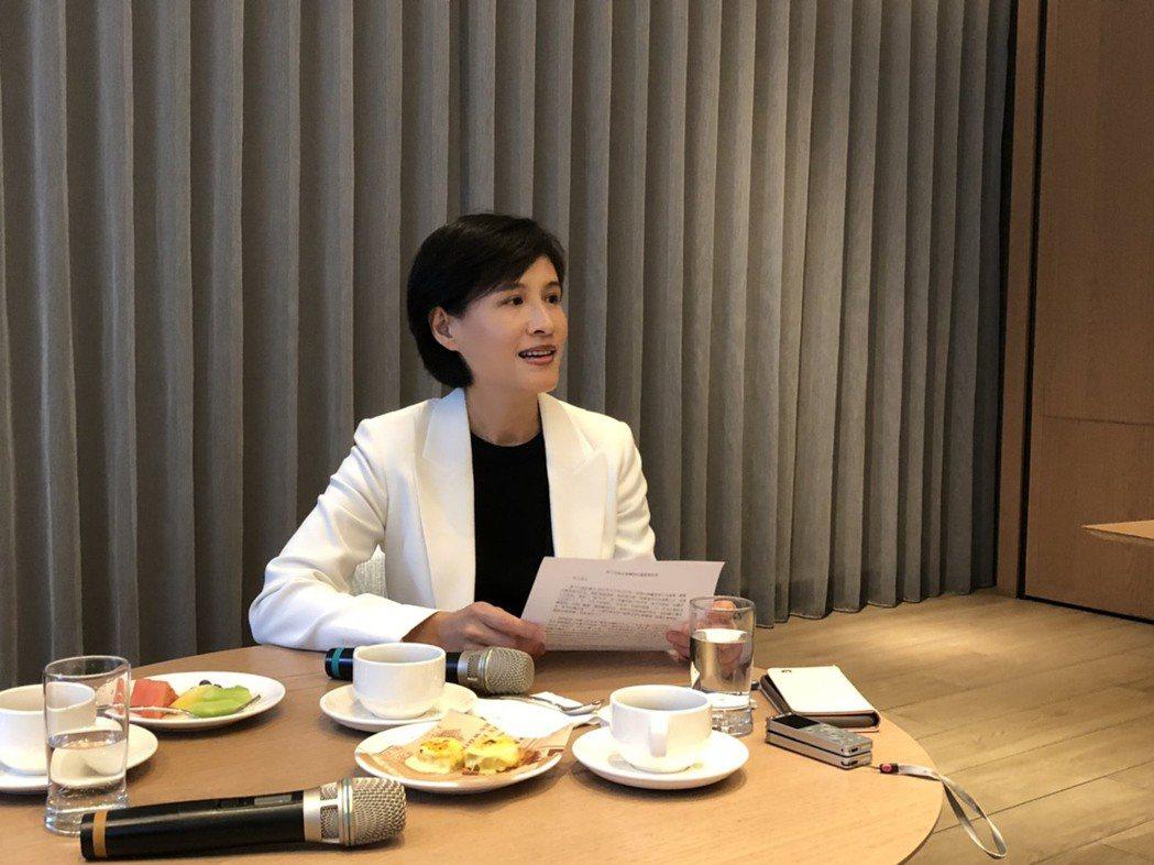 文化部前部長鄭麗君。記者丘采薇/攝影